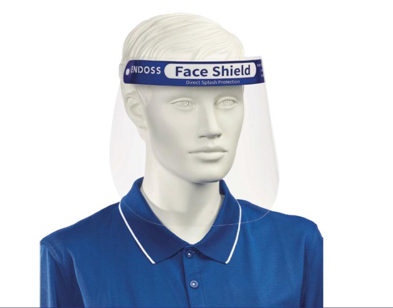 Endoss Face Shield PPE voorkant